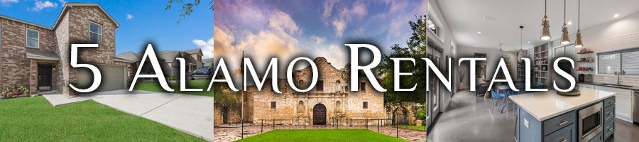 san antonio vacation rentals near the Alamo